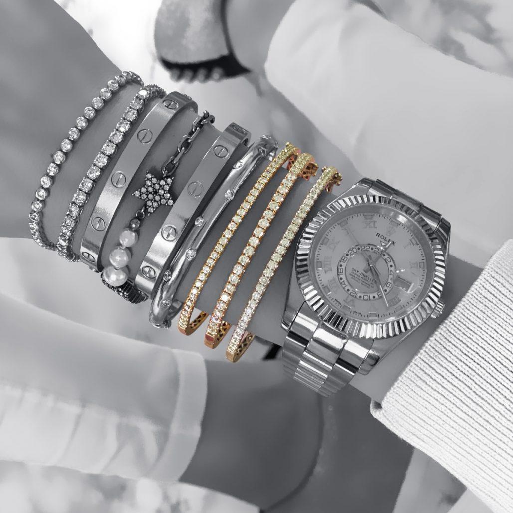 Diamond Bangle-paris-filter