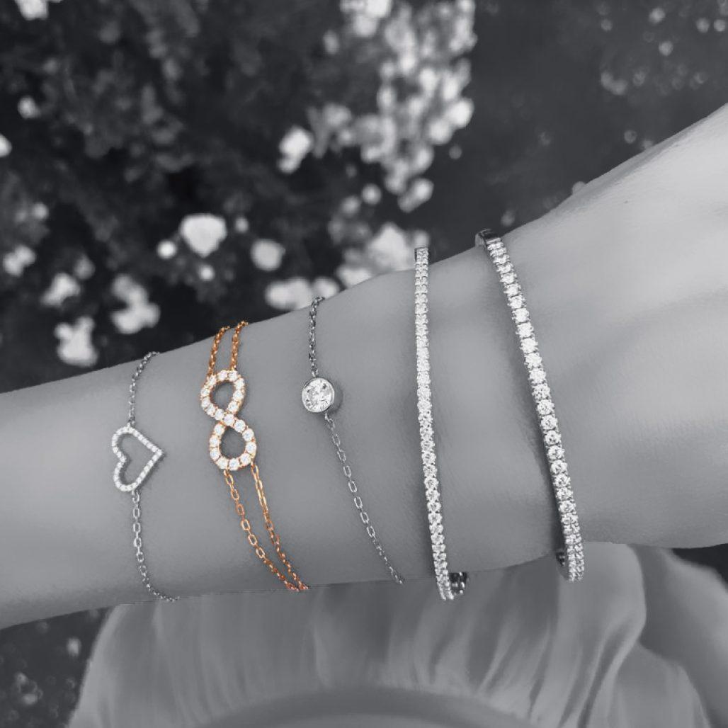 Diamond Infinity Bracelet-paris-filter