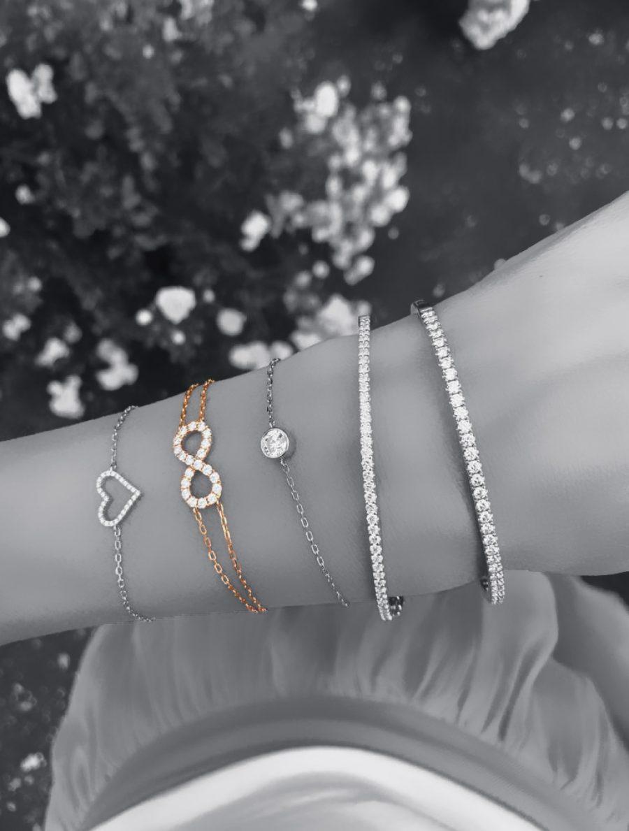 Diamond 'Infinity' Bracelet