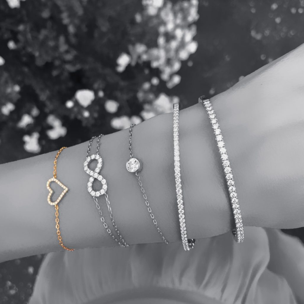 Open Heart Diamond Bracelet-paris-filter