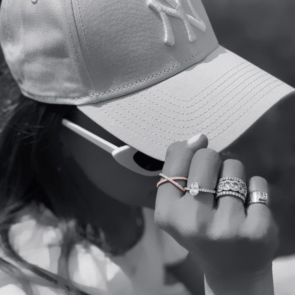 Small Diamond Crisscross Ring-paris-filter