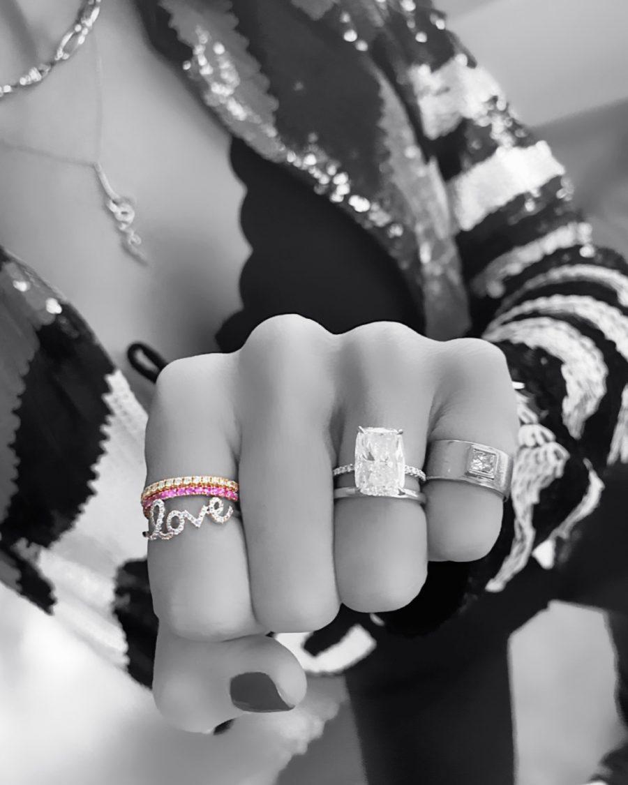 'Love' Ring