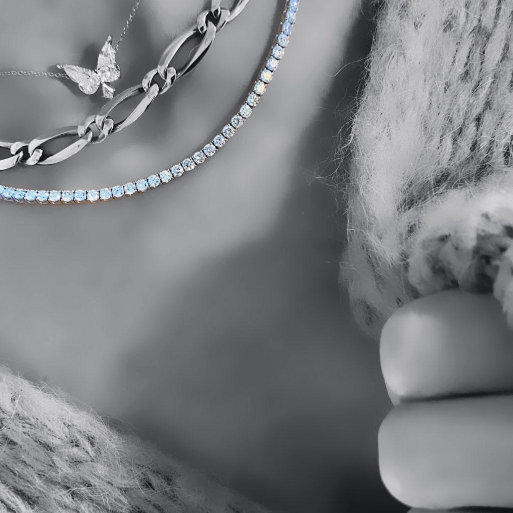 Diamond Tennis Necklace-paris-filter