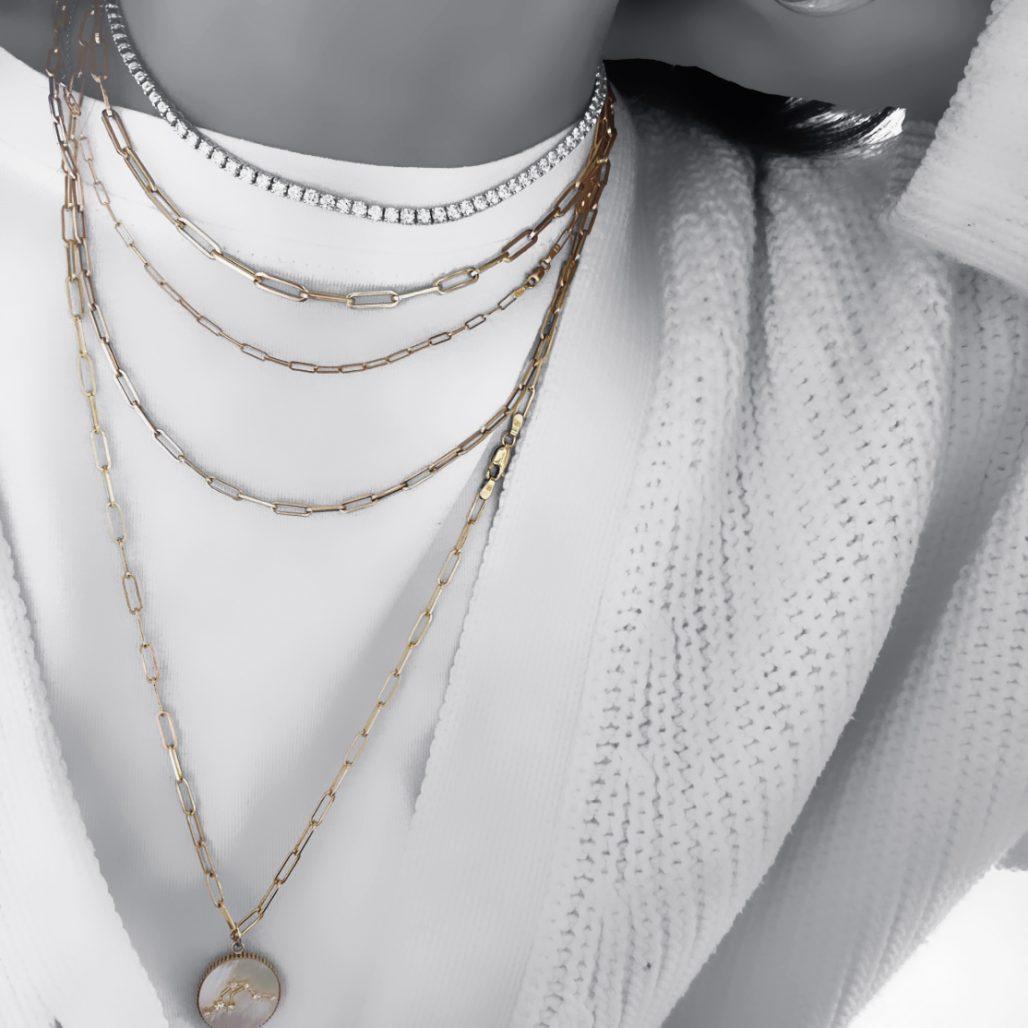 Paperclip Necklace-paris-filter