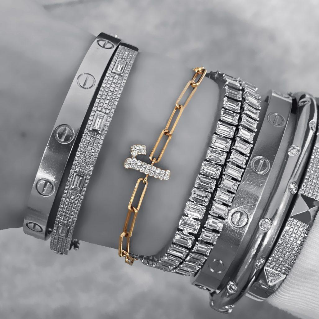Diamond Initial Bracelet-paris-filter