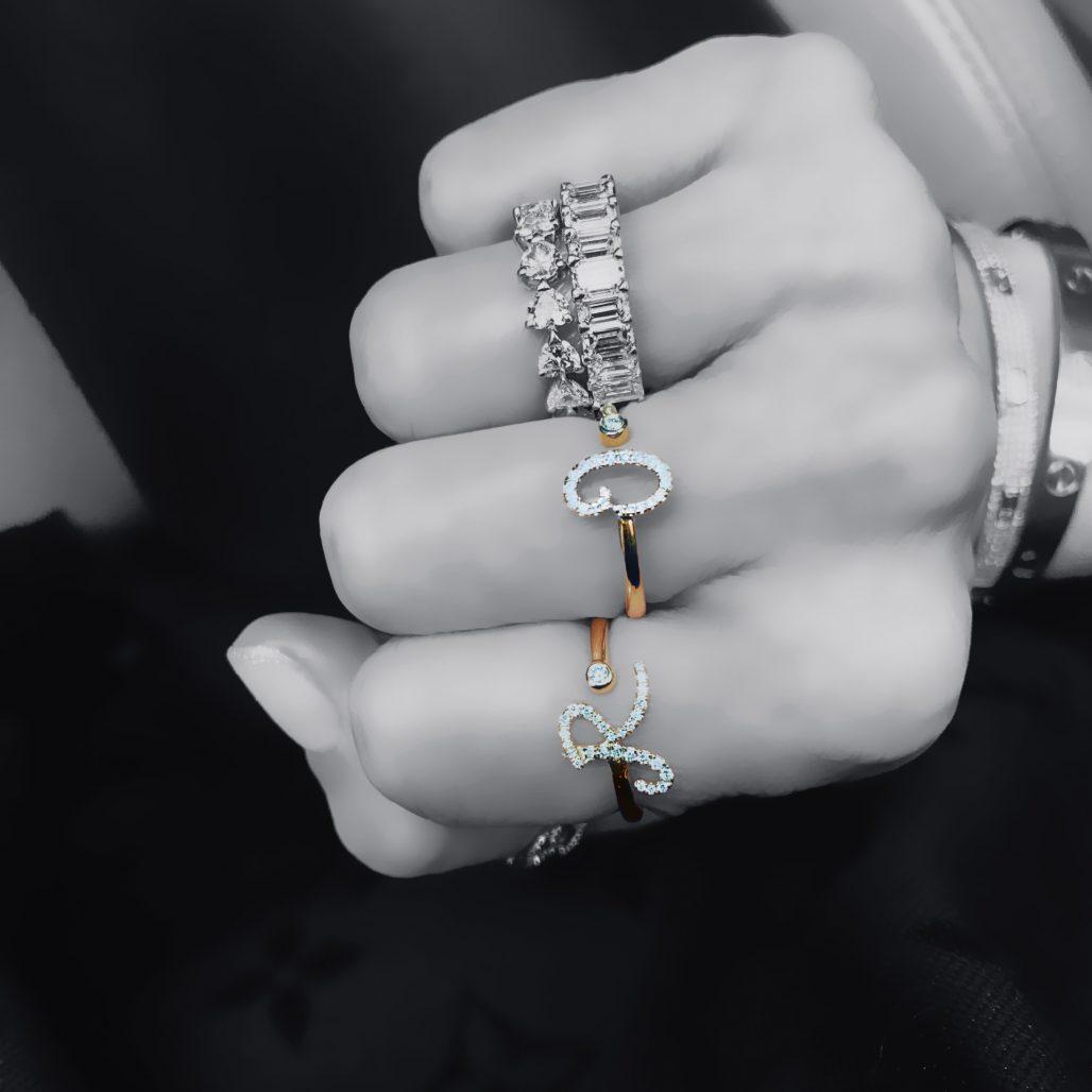 Diamond Initial Ring-paris-filter