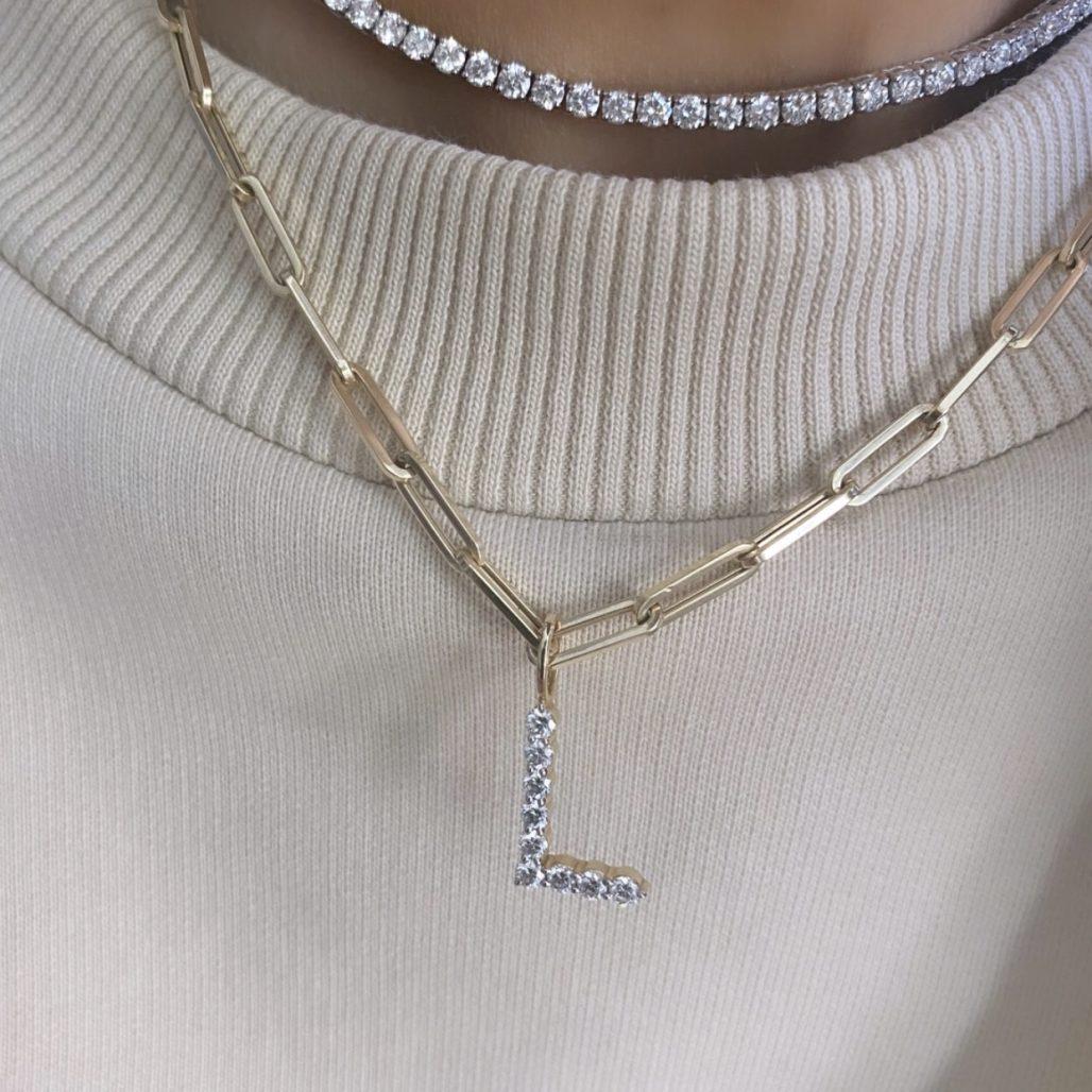 Large Diamond Initial-2